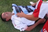 Trọng tài Chile bị đánh đến bất tỉnh, mất răng