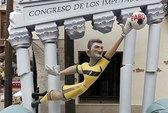 Hình nộm Iker Casillas bị đốt