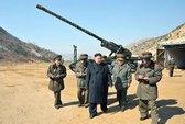 Kim Jong-un thị sát tập trận bắn đạn thật
