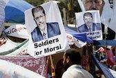 Tòa án Ai Cập ra lệnh bắt ông Mursi