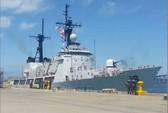 Tàu chiến tối tân Mỹ cập cảng Philippines