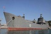 """Tàu chiến chở """"hàng đặc biệt"""" của Nga tới Syria"""