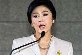Bà Yingluck nghẹn ngào đề nghị người biểu tình