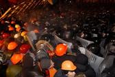 Cảnh sát Ukraine phá tan trại người biểu tình