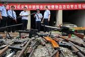 Trung Quốc tiêu hủy vũ khí trái phép