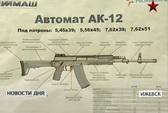 Nga sắp trang bị súng tự động AK-12