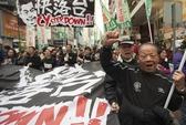 Hồng Kông rầm rộ biểu tình đòi trưởng đặc khu từ chức