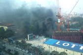 Hà Nội: Cháy tại công trường xây tòa nhà cao 267 m