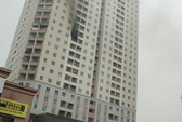 Hà Nội: Phát hoảng tháo chạy vì cháy ở tòa nhà 34 tầng