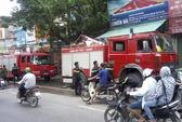 Hà Nội: Cháy ở cửa hàng bán hàng chống cháy