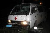 Hà Nội: Người nước ngoài lái xe cứu thương tông chết người