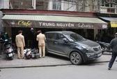 """Ô tô """"tông"""" bị thương người tại quán cà phê của Thạch Bảo Khanh"""