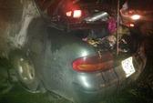 Xe Toyota phát hỏa tại trạm thu phí