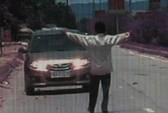 """Bị tài xế taxi tông chết vì chặn đầu """"xin đểu"""""""