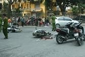 Hà Nội: Cướp giật gây tai nạn khiến 2 vợ chồng nguy kịch