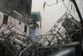 Hà Nội: Cháy lớn, ngôi nhà 4,5 tầng thành tro