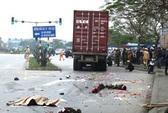 Mua hoa 8-3, 2 nữ sinh viên thiệt mạng dưới bánh container