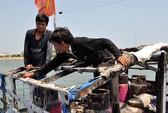 Tàu cá bị Trung Quốc bắn cháy cabin trở lại Hoàng Sa