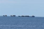 Cảnh sát biển truy đuổi tàu lạ ở Trường Sa