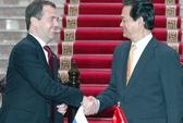 Thủ tướng Nguyễn Tấn Dũng lên đường thăm Nga
