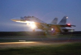 Xem Su-30 bay đêm trên bầu trời phương Nam