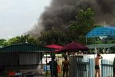 Hà Nội: Cháy tại khu vui chơi đối diện sân Mỹ Đình