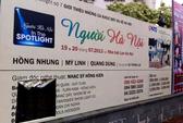 Hà Nội: Cắt băngrôn, đổ chất thải phá chương trình ca nhạc