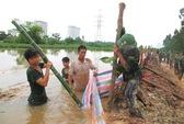 Hà Nội: Lo vỡ đê sông Nhuệ