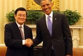 Tuyên bố chung của Chủ tịch Trương Tấn Sang và Tổng thống Barack Obama