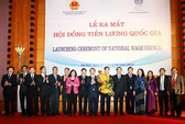 Ra mắt Hội đồng Tiền lương Quốc gia