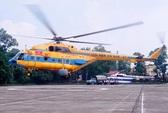 Huy động 6 trực thăng ứng trực trong bão số 8