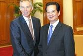 Chưa có thoả thuận ông Tony Blair làm cố vấn cho Việt Nam