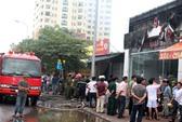 Hà Nội: Showroom ô tô nhập khẩu bốc cháy dữ dội