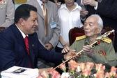 Đại tướng Võ Nguyên Giáp với nguyên thủ nước ngoài