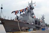 Ra mắt Lữ đoàn Tàu pháo - Tên lửa 167 hiện đại