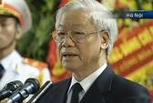 Tổng Bí thư Nguyễn Phú Trọng: Đại tướng mãi mãi lưu danh trong lịch sử