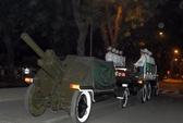 Nửa đêm qua, tổng duyệt đưa tang Đại tướng Võ Nguyên Giáp