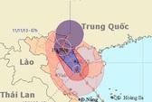 Đêm nay, bão Haiyan vào Hải Phòng, Thái Bình và Quảng Ninh