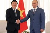 Tổng thống Putin không đổi chuyến thăm Việt Nam vì bão Haiyan
