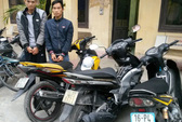 """Công an đặt """"bẫy"""" trên mạng tóm gọn sinh viên trộm 4 xe máy"""