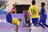 Mãn nhãn với futsal Brazil
