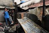 Cháy 4 căn nhà tại quận Bình Thạnh - TPHCM