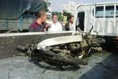 Trung tá CSGT bị tàu lửa tông chết