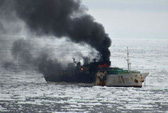 Ba thủy thủ VN mất tích trong vụ cháy tàu Hàn đã chết