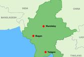 Động đất mạnh ở Myanmar, hơn trăm người thương vong