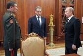 Tổng thống Putin đổi Tổng Tham mưu trưởng quân đội
