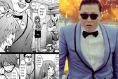 """Dân Hàn tức giận vì truyện tranh Nhật """"đá đểu"""" Psy"""