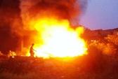 Suýt cháy lớn vì đốt rác