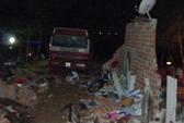Xe khách tông nhà dân, chủ nhà chết, 9 người bị thương