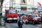 TPHCM: Cháy tiệm cắt tóc